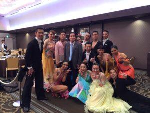 社交ダンスサマーパーティー2016