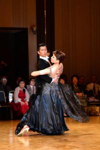 danceforever2014富田組黒ドレス